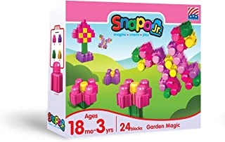product image for Snapo Jr. Garden Magic 24 Piece Block Set