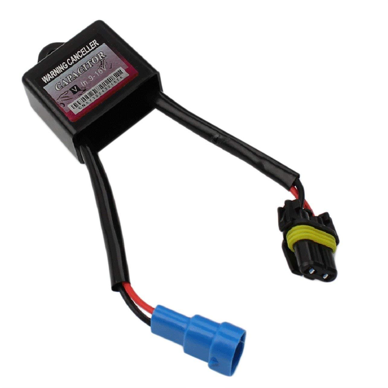 1 Pz universale Xenon HID Conversion Kit Computer Cruscotto errore canceller davvertimento Decoder /& Anti Flicker Capacitor