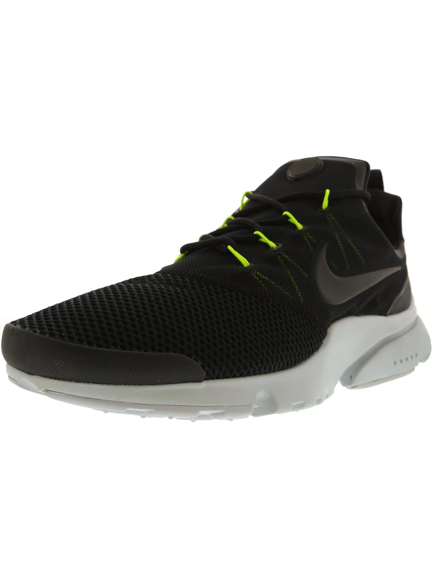 836978c72296f Nike Men's Presto Fly, Black/Black-Volt-Pure Platinum, 8 M US