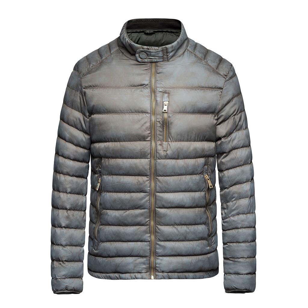 Men's Big & Tall Packable Down Puffer Coat Jacket Winter Jacket for Boys with Warm Fleece Inner Jacket, Robust rain Jacket for Boys with reflectors by VEZARON