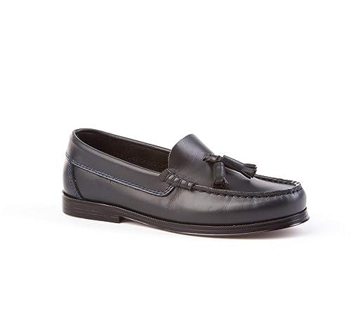 Zapatos Mocasines con borlas para niños. Calzado de niño Hecho a Mano - Mi Pequeña Modelo 594v Color Azul Marino.: Amazon.es: Zapatos y complementos