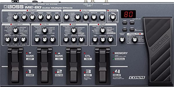 Boss ME-70 Guitar Multi-Effects Pedal Reviews Reviews ...