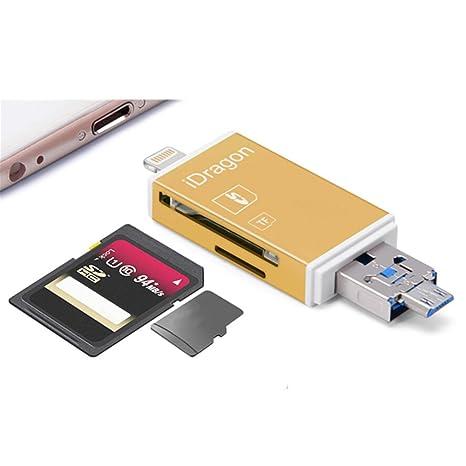 desplazamiento de fotos de lector de tarjetas de memoria USB ...