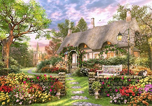 "Chamberart 1000Piece Premium Jigsaw Puzzles ""The Villa Nest To The Trail"" A-1106 By Dominic Davison"