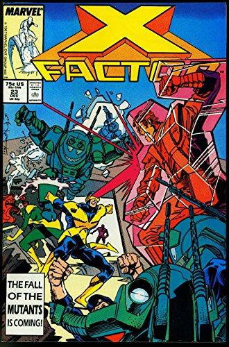 X-Factor #23 1988- Four Horsemen of the Apocalypse X-Men Movie VF (X Men Four Horsemen Of The Apocalypse)