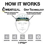 """Halo Headbands Sweatband Slim, 1"""", Blur"""