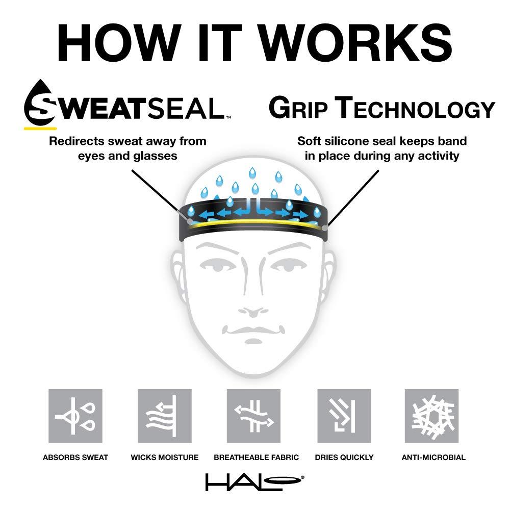 Halo Headbands Sweatband Halo I Tie Version, Blur by Halo Headbands (Image #2)