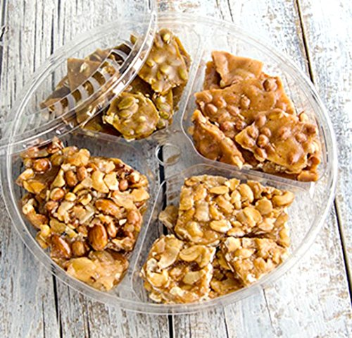 Brittlelicious 10 in. Party Tray (Coconut Cashew / Spiced Pumpkin / Mixed (Sweet Peanut Brittle)