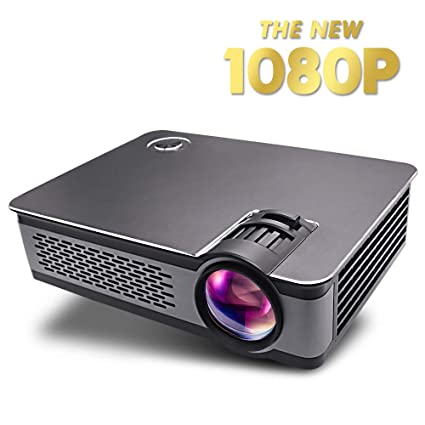 Amazon.com: Proyector LCD Mini HD 1080P 150 pulgadas LED ...
