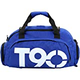 Mixed Duffle Bag For Unisex,Blue - Travel Duffle Bags