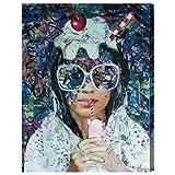 The Oliver Gal Artist Co. 'Milkshake by Katy Hirschfeld' Canvas Art, 24