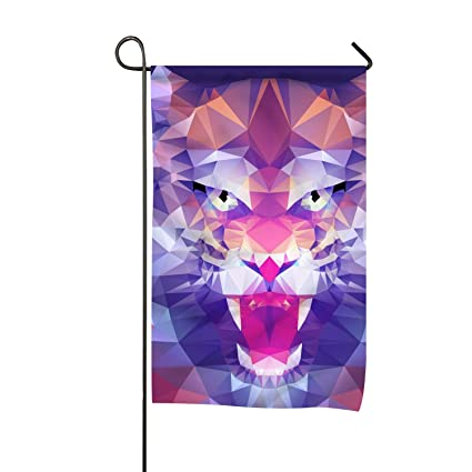 Amazon com : WilBstrn Tiger Yard Flags Decorative Vertical
