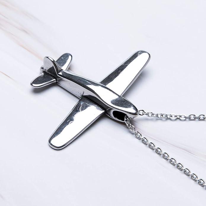 Amazon.com: Fanery Sue - Llavero con diseño de avión ...
