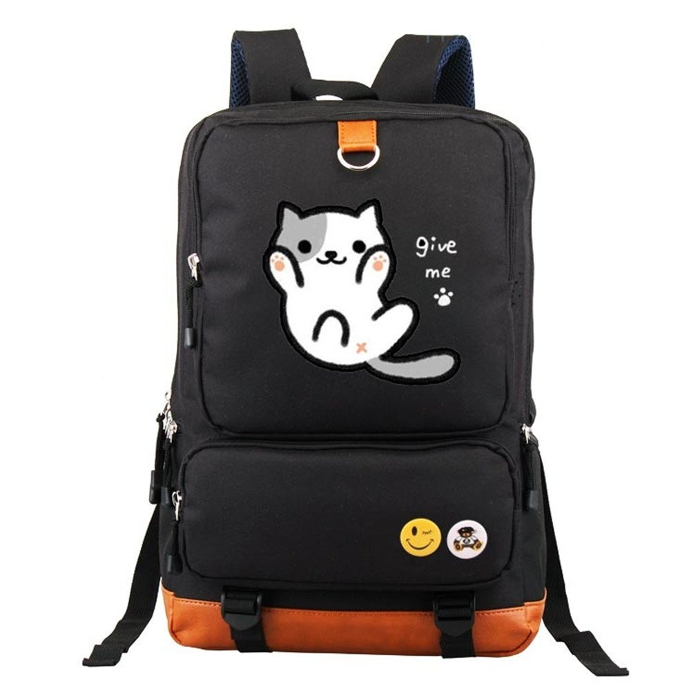 86eb2f401188 chic YOYOSHome Neko Atsume Anime Cat Backyard Cosplay Shoulder Bag ...