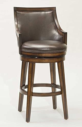 Hillsdale Furniture 40 in. Square Back Swivel Stool 30 in. Bar Height