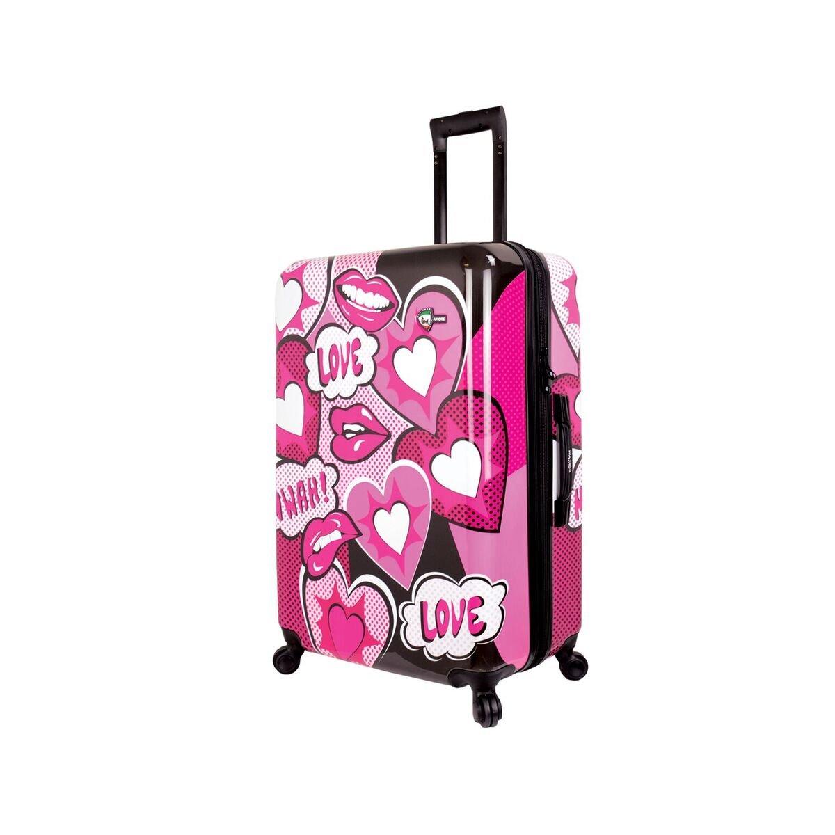 Mia Toro スーツケース, ピンク, One Size  ピンク B078SZQ461