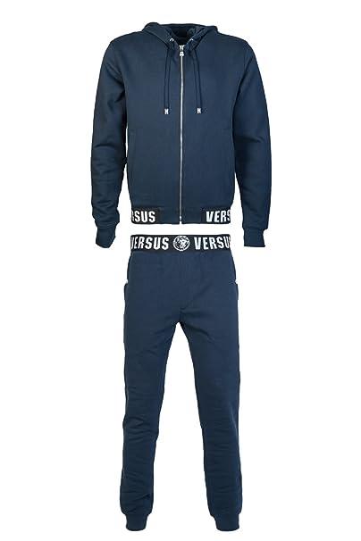 e5cd18a552 Versace Mens Zip Up / Button Cardigan Hoody Tracksuit BU90255BJ10193 ...
