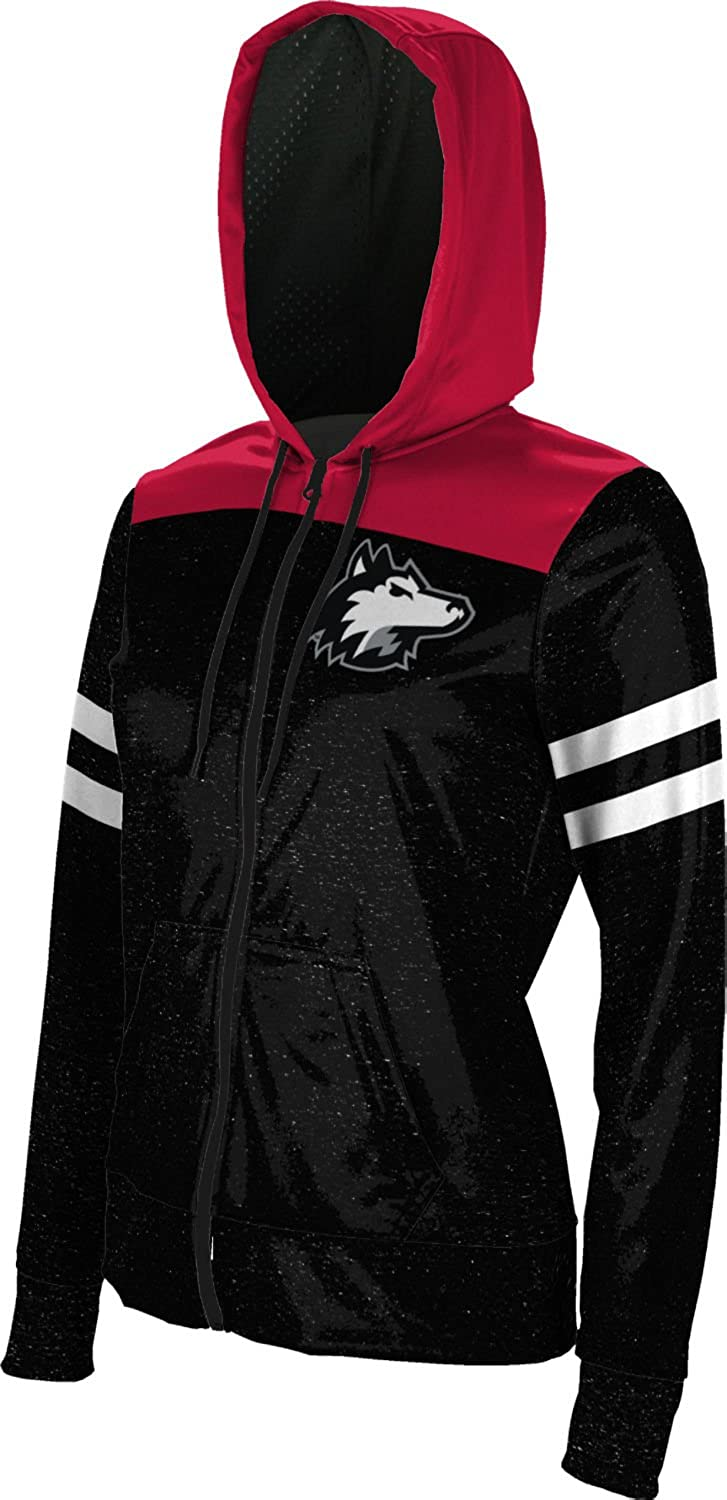 School Spirit Sweatshirt Game Time Northern Illinois University Girls Zipper Hoodie
