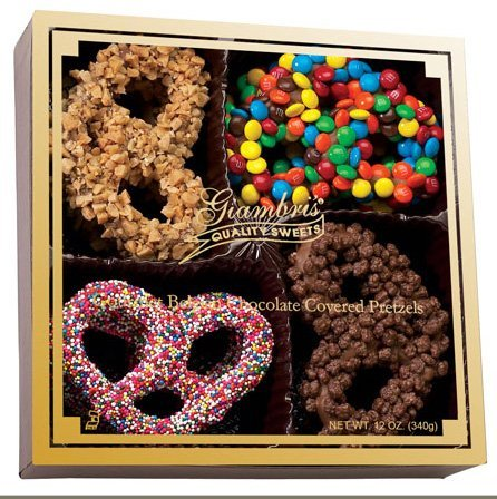 Giambri's Gourmet Chocolate Pretzels Gift Box- (12oz each)