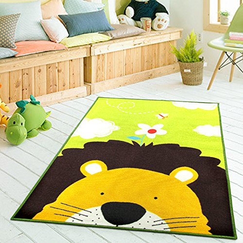 HUAHOO Lovely Carpet Kids Inches Cartoon Animal Baby Baby Crawling Pad/Game Mat