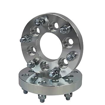 ALLOYWORKS rueda espaciadores para Nissan Navara 6x114.3 to 6X139.7 25MM (2PCS): Amazon.es: Coche y moto