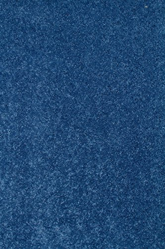Bright House Solid Color Area Rug, 2' W X 3' L, Royal (Royal Blue End)