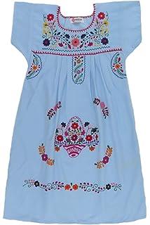 Mexican Clothing Co Vestido Mexicano Para Niñas Pequeñas