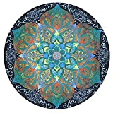 AxiEr 1PC Round Mandala Wall Hanging Home Shower