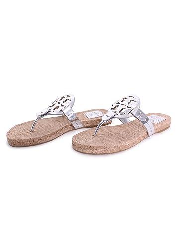 53888a0f0 Tory Burch Miller Metallic Sandal Womens (6.5 M US)