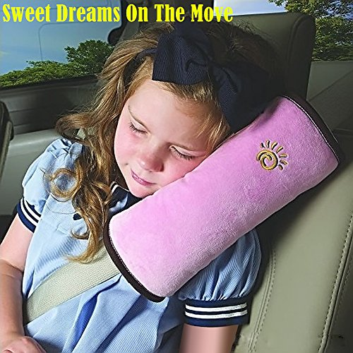 1pc High Practicability Multifunctional Baby Car Seat Belt Cushion of Car Playpens Headrest Pillow for Baby Kids Seat Belt Pad Cover by Samy Best (Image #9)