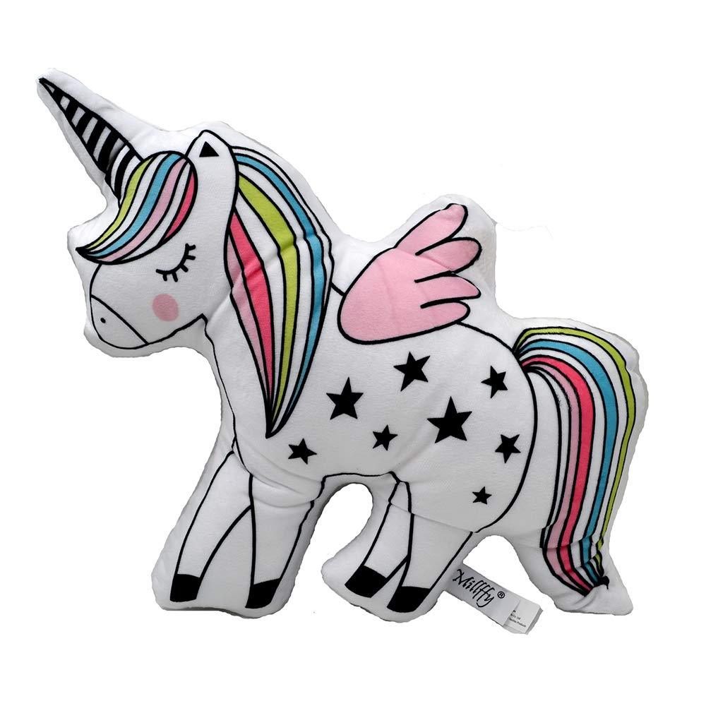 Amazon.com: Unicorn Emoji manta de almohada peluches de ...
