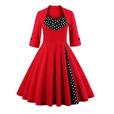 Black and Red Long Cocktail Dresses