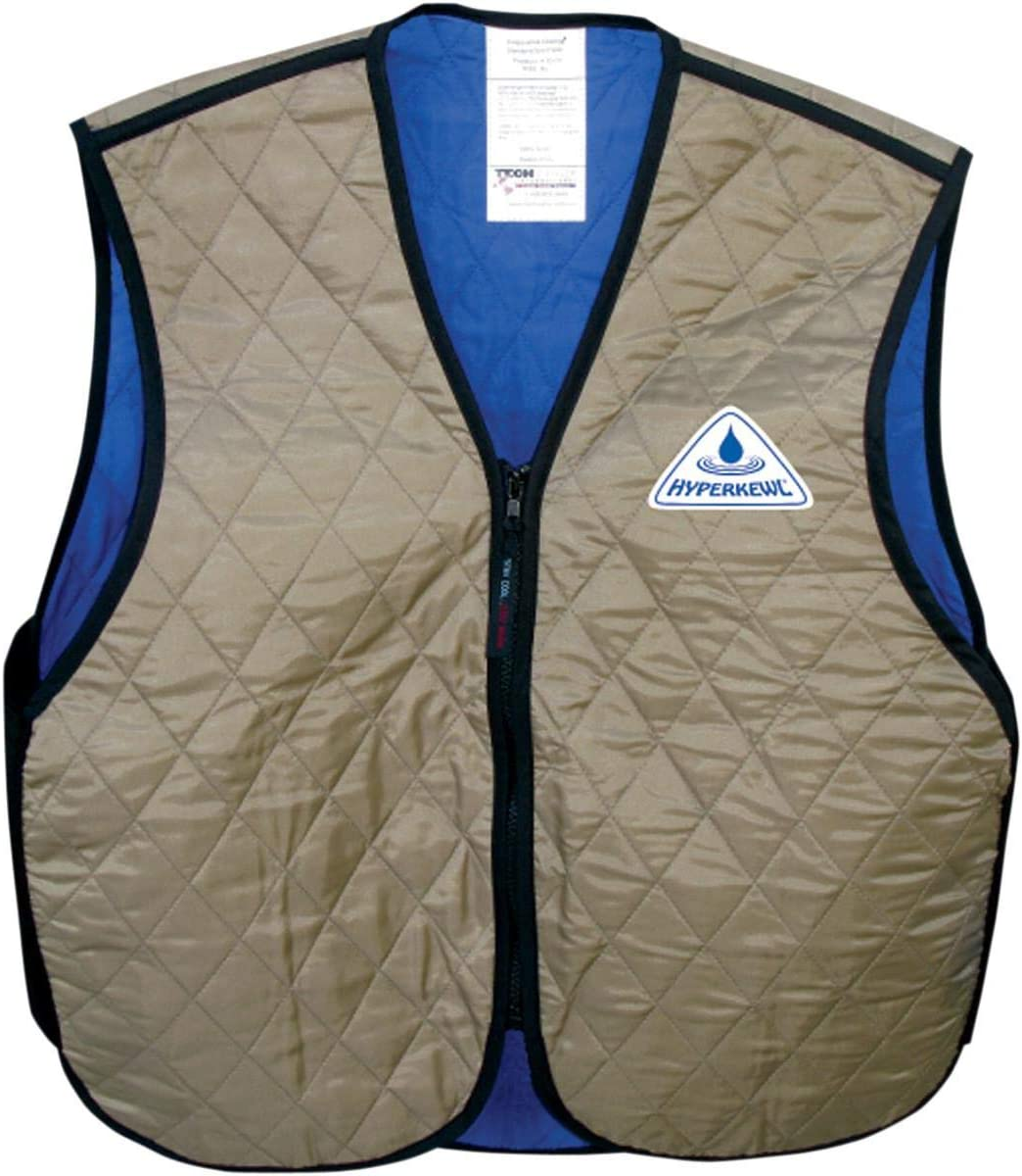 Techniche Womens Hyperkewl Deluxe Cooling Vest Gender: Womens Size: XL Primary Color: Gray Distinct Name: Silver 6530F SV XL