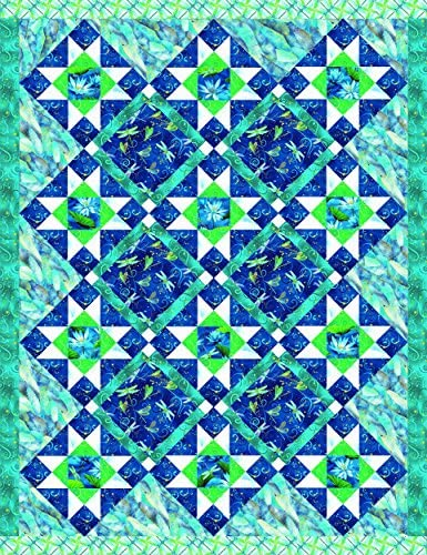 Dazzling Dragonflies Quilt Benartex Studios product image