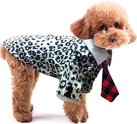 Disfraz de perro, traje de negocios con corbata para perros ...