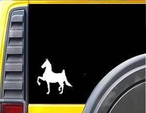 EZ-STIK American Saddlebred HorseJ371 6 inch Decal Sticker