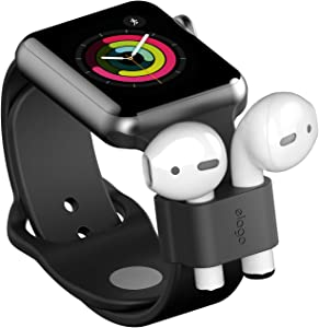 elago AirPods Wrist Fit - [Durable AirPods Holder][Apple Watch Compatibility][Portability] - Compatible with Apple AirPods Pro & 2 & 1