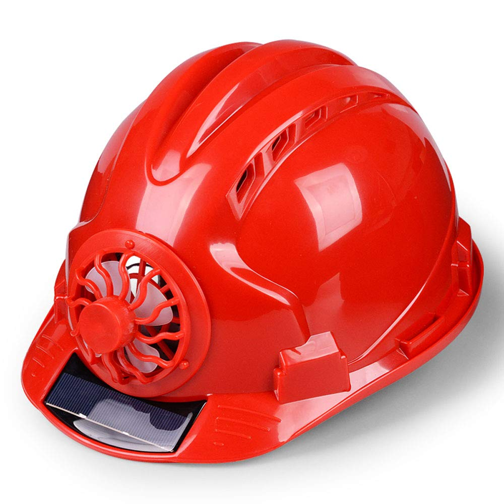 4 Colours Color : A: Blue YAN JUNau Adjustable Helmet with Solar Fan Home Improvement and DIY Projects//PP Personal Protective Equipment for Construction ANSI-Compliant