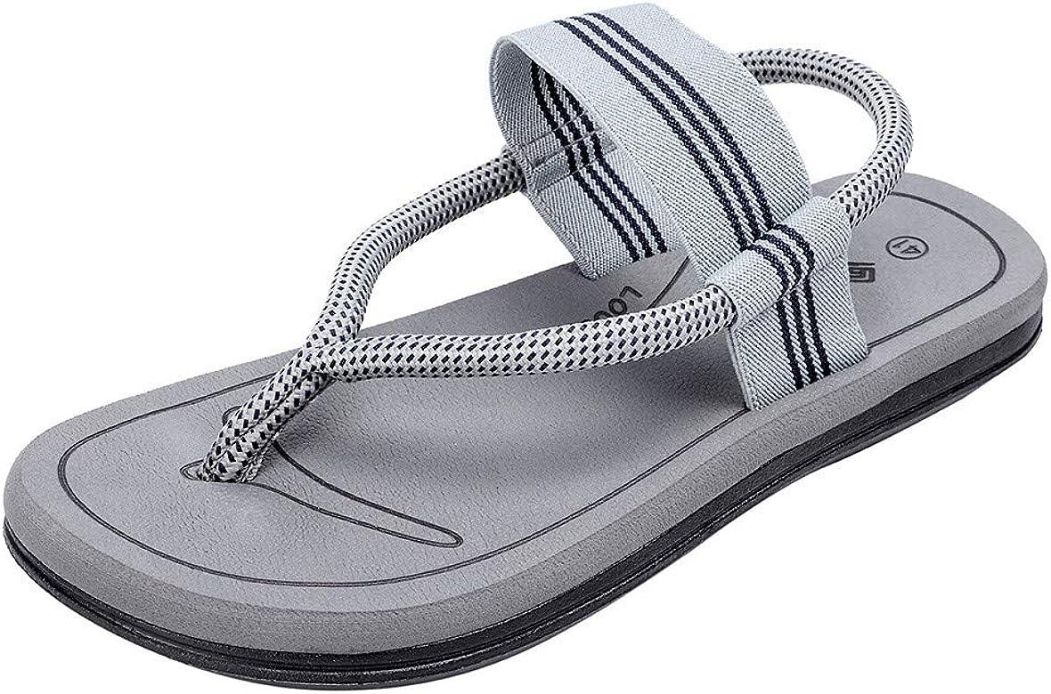 bajo precio 29566 e3a0c ❤️LEORTKS Sandalias Unisex Playa Verano Moda Mujer Pareja Casual Flip Flop  Zapatillas Sandalias de Playa Zapatos de Hombre al Aire Libre Hombre ...