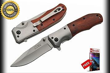 Amazon.com: Moon Knives 300367 - Cuchillo táctico de madera ...