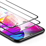 [2-Pack] ESR Screen Protector for Samsung Galaxy A70, Tempered-Glass 2.5D Edge Protection, Full Screen Coverage, Dust-Free Bubble Free, Scratch Resistant for The Samsung Galaxy A70 (2019)