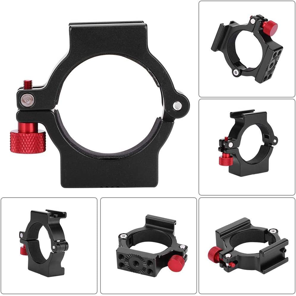 Tosuny 1//4 Ball Head Ring Light Adapter O-Ring Hot Shoe Adapter Suitable for Zhiyun Smooth 4