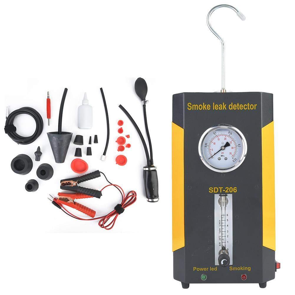 SDT-206 Car Smoke Machines Professional Repairing Adjustable Flowmeter Cars Leak Locator Automotive Diagnostic Leak Detector