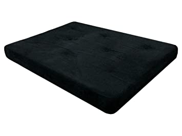 amazon    dhp 6 inch futon mattress black  kitchen  u0026 dining  rh   amazon