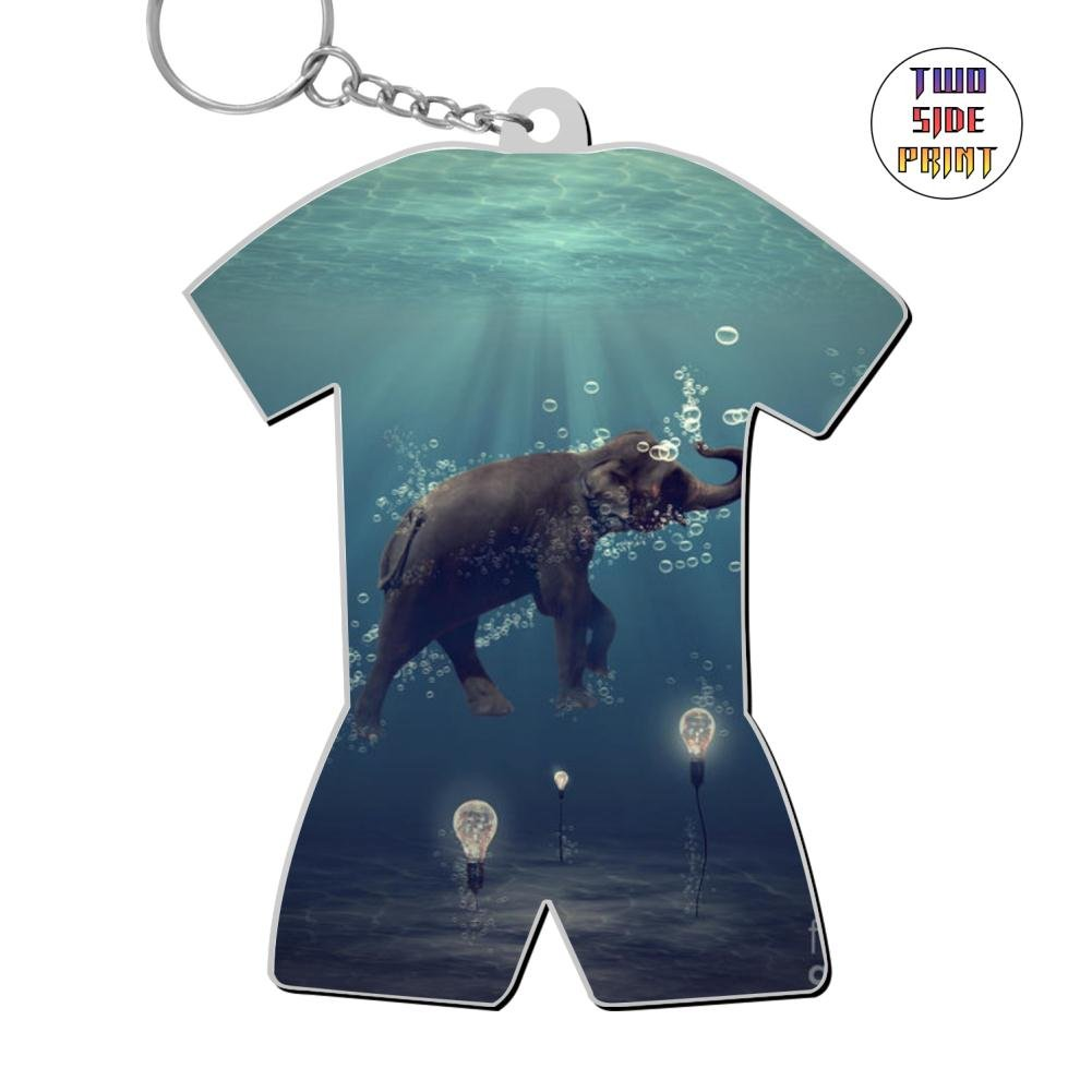 Amazon Cool Keychain Elephant Keyring World Cup Polo Shirt