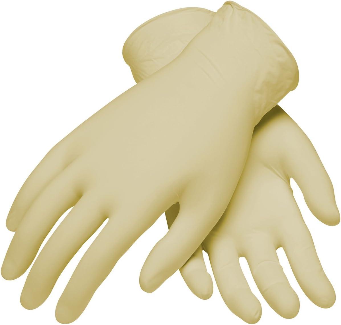 Ambi-dex 62-322PF/L Industrial Grade Disposable Latex Glove, Powder Free, 5 Mil