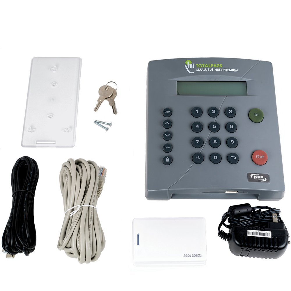 Icon Time Systems TP-PROX TotalPass Small Business Proximity Time ...
