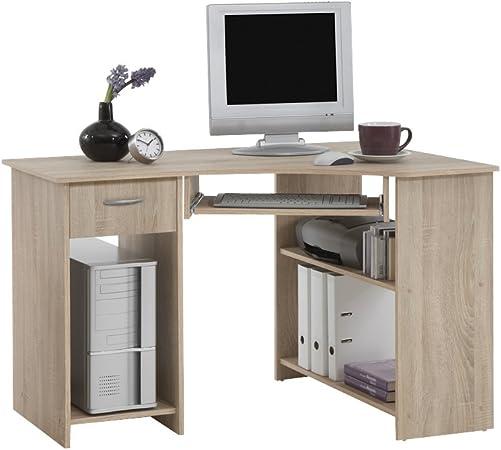FMD Felix 1 - Mesa de ordenador con un cajón, tres compartimentos ...