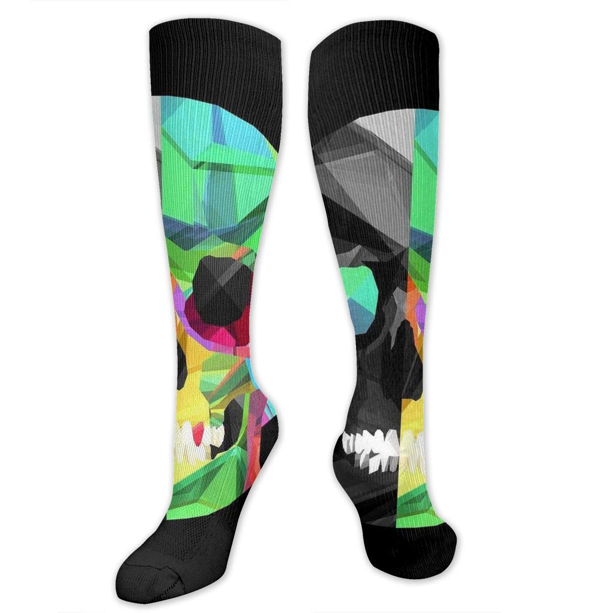 Skullsocks Uniquely Designed Steamed Bread Street Hipster Print Custom Socks for Men /& Women-Best for Running,Athletic,Medical,Pregnancy and Travel
