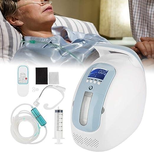 Knoijijuo Concentrador de oxígeno Gris para el hogar 1-5 L/min de ...